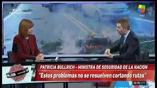 Patricia Bullrich: el caso de Pity Álvarez y los límites de la despenalización del consumo