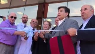 """Inauguración del Hospital de la Mujer y el Niño, """"Nelly Quiroga"""", en la localidad bonaerense de José C. Paz"""