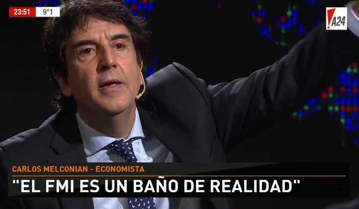 El análisis de Carlos Melconian de la economía con Luis Novaresio