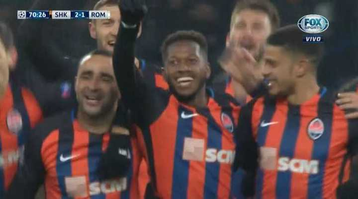 Shakhtar 2 - Roma 1