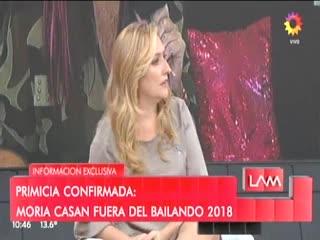 Yanina Latorre mostró un audio de Moria Casán