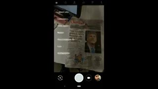 Ejemplo de Google Lens