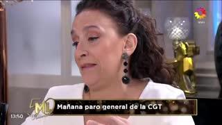 El Negro Álvarez y Gabriela Michetti en lo de Mirtha Legrand