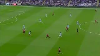 El golazo de Marcus Rashford al Manchester City.