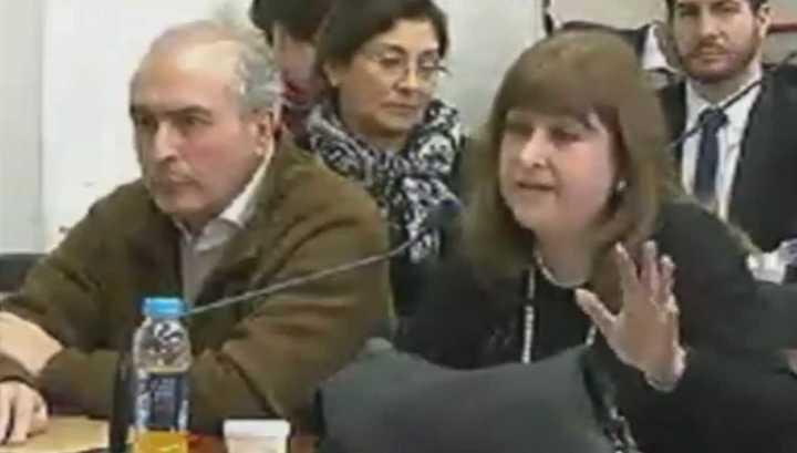 José López se la hizo difícil a su propia abogada: no le contestó la mayoría de las preguntas