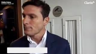 """Zanetti: """"Hoy más que nunca tenemos que estar unidos"""""""