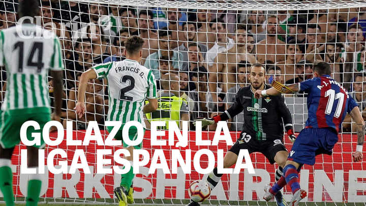 El mejor gol de la primera fecha de Liga Española (hasta ahora)