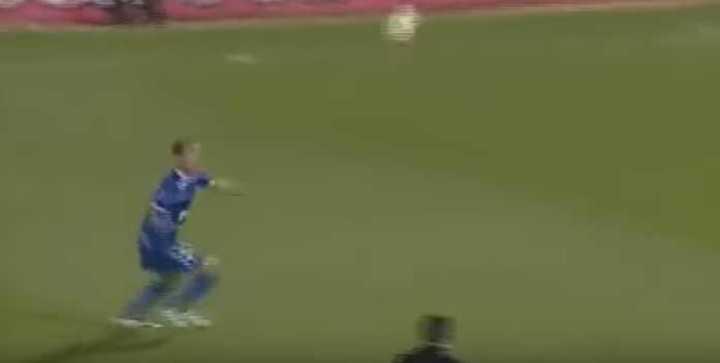 El gol de Mariano Pernía al Barcelona