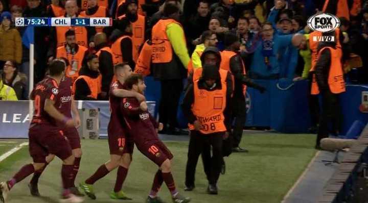 Chelsea 1 - Barcelona 1