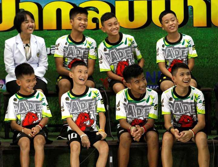 Final feliz: los 12 chicos rescatados en Tailandia y la alegría de volver a la vida normal