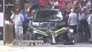 Roborace, el auto autónomo de carreras. Festival de la Velocidad de Goodwood 2018