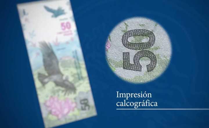 Así es el nuevo billete de $50