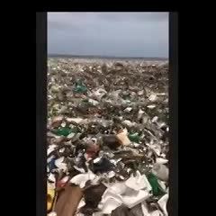 Olas de basura llegaron a las costas de República Dominicana