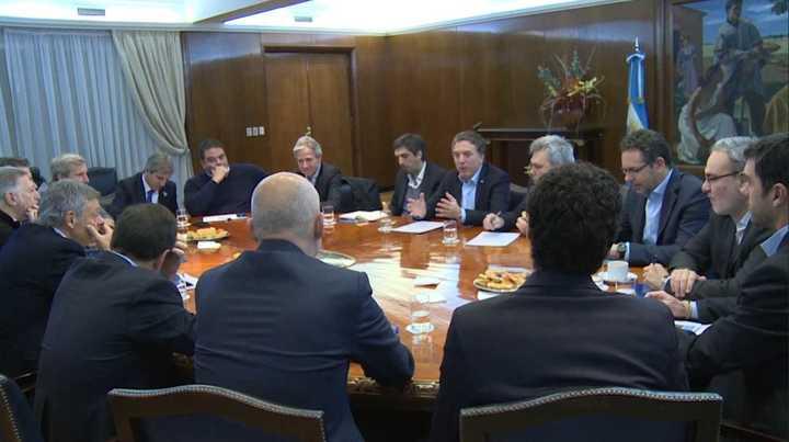 Nicolás Dujovne encabezó esta mañana la reunión de coordinación del Gabinete Económico
