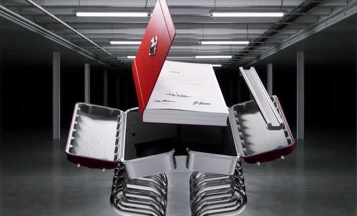 El libro de Ferrari de los 30 mil dólares