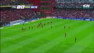 El gol de Rubens Sambueza que desató la polémica en México