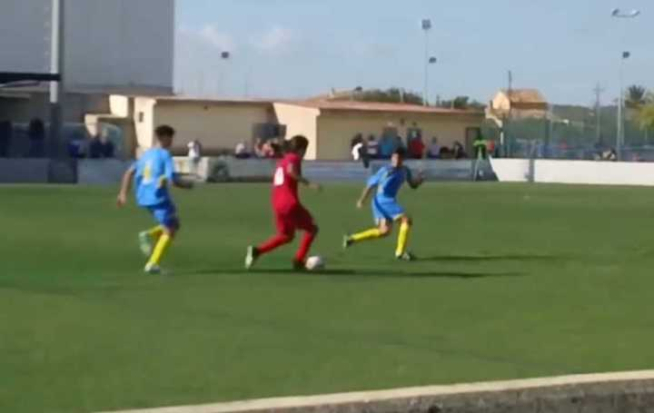 Así juega Luka Romero, el Messi mexicano
