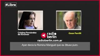 Cristina y Parrilli, contra Pichetto