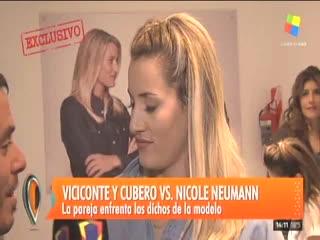 """Mica Viciconte le respondió a Nicole Neumann en """"Intrusos""""."""