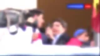 El cantito del Thibaut Courtois que no olvidan los del Real Madrid.