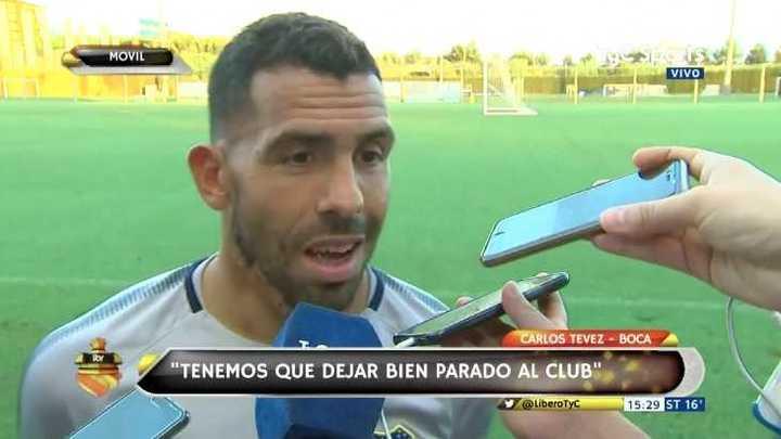 """Tevez: """"Sería un suicidio jugarle de igual a igual al Barcelona"""""""