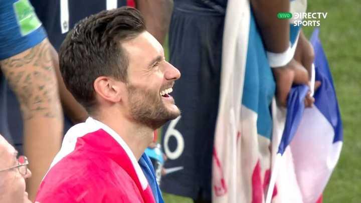 Lloris se rió de su burrada en el segundo gol croata - Mundial Rusia 2018