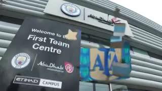 La llegada de Lionel Messi a Manchester. (AFA)