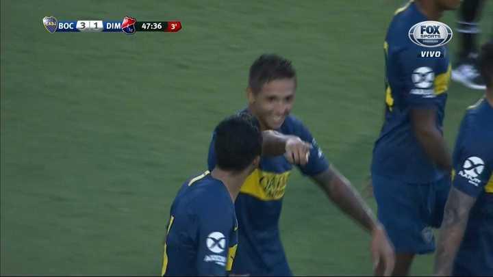 Boca 3 - Independiente de Medellín 1. Almendra metió el tercero - Amistoso 2018
