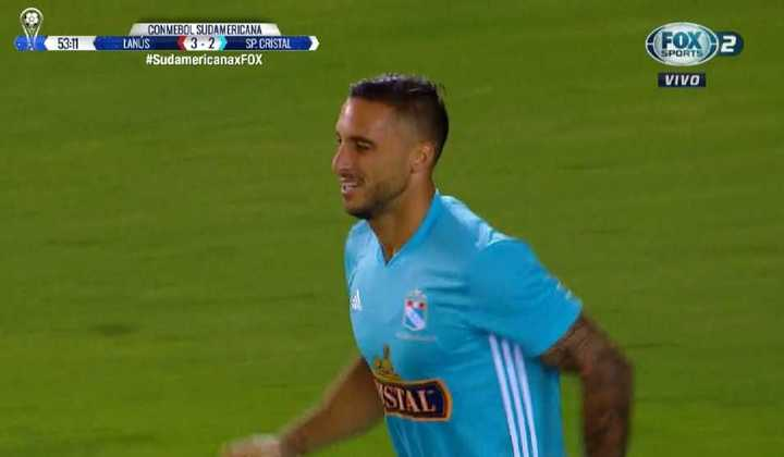Lanús 3 - Sporting Cristal 2