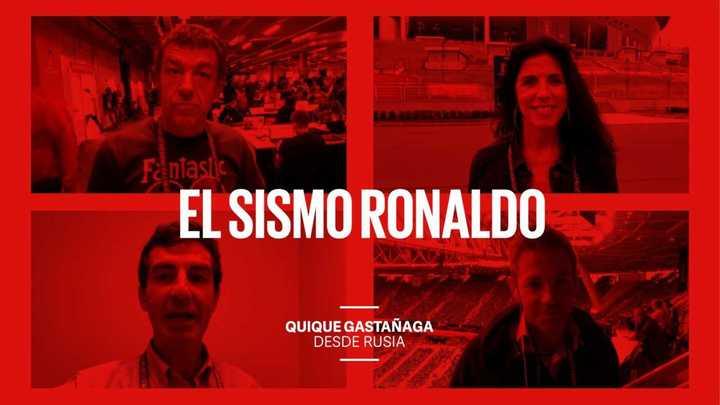 El sismo Ronaldo