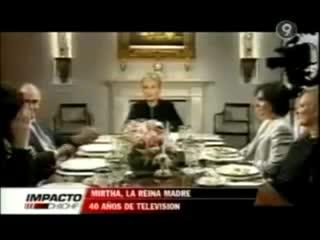 Almorzando con Mirtha Legrand: el día que la ex Miss Mundo Silvana Suárez abandonó el programa