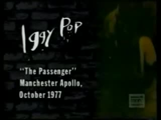 "Iggy Pop - ""The Passenger"""