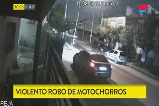Violento intento de asalto en Ramos Mejía