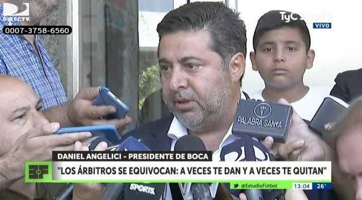 """""""Boca no va a pedir VAR, ni nada"""""""