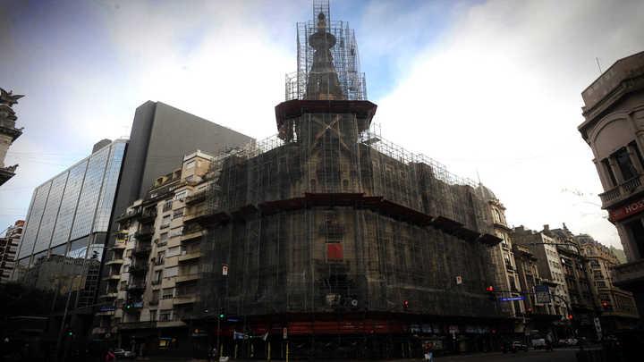 Arrancó la recuperación de la histórica Confitería del Molino
