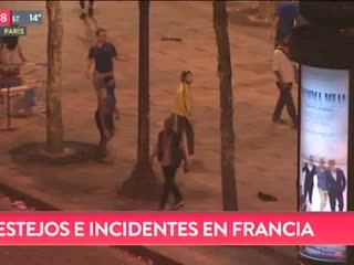 Incidentes en Francia