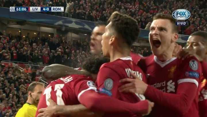 Liverpool 4 - Roma 0