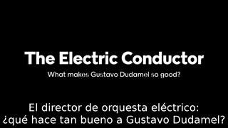Gustavo Dudamel, un eléctrico conductor de orquesta