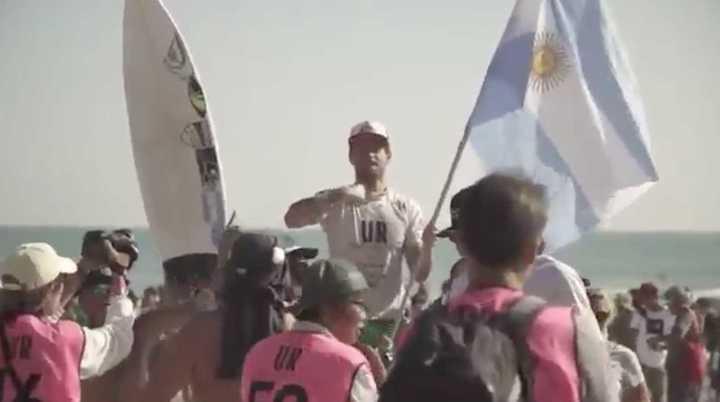 El testimonio de Santiago Muñiz tras su bicampeonato mundial de surf