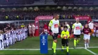 El resumen de la caída 2-0 de Milan ante Juventus