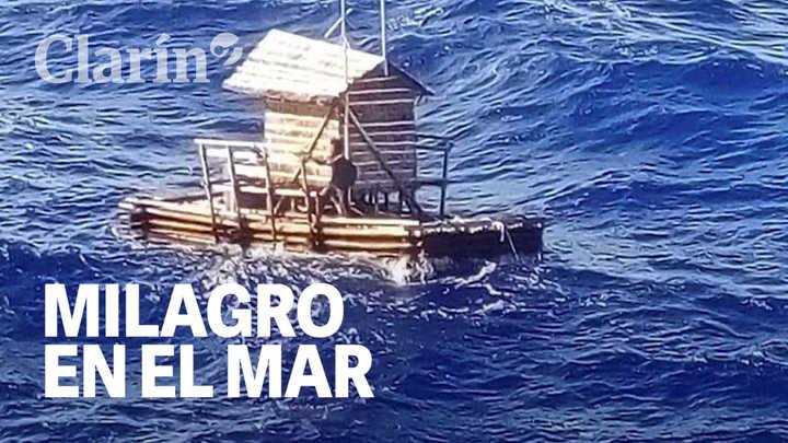 Milagro en el mar: un chico de 18 años sobrevivió 49 días perdido en el Pacífico