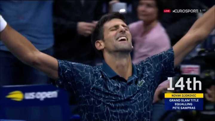 Djokovic venció a Delpo y se corona campeón del US Open 2018