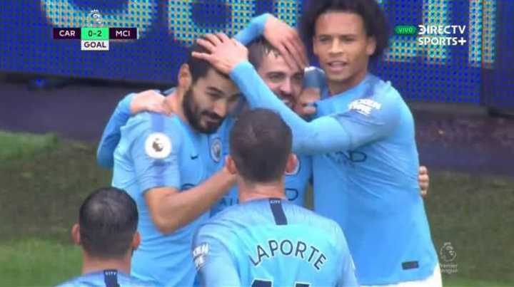 Bernardo Silva anotó el 2 a 0 del Manchester City