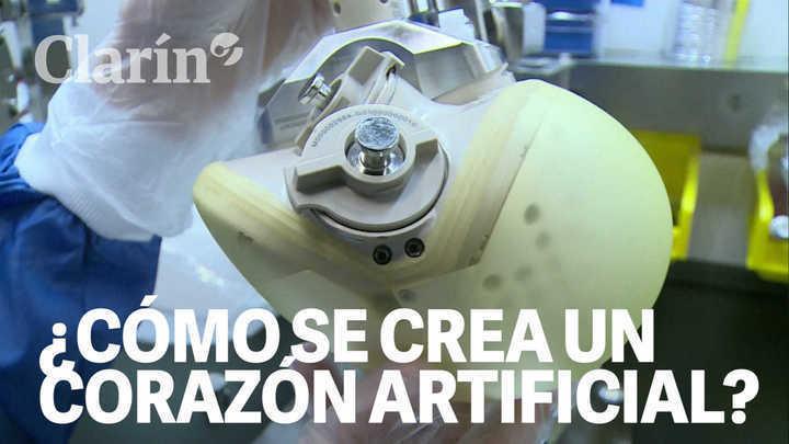 ¿Cómo se fabrican los corazones artificiales? Una mirada dentro del laboratorio francés que salva vidas