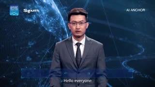 China presenta un locutor de noticias virtual