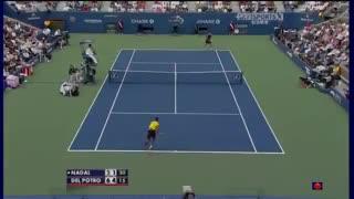 La semifinal del US Open 2009 entre Del Potro y Nadal