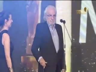 El discurso Pacho O'Donnell, ganador en el rubro Documental. Martín Fierro de cable 2018