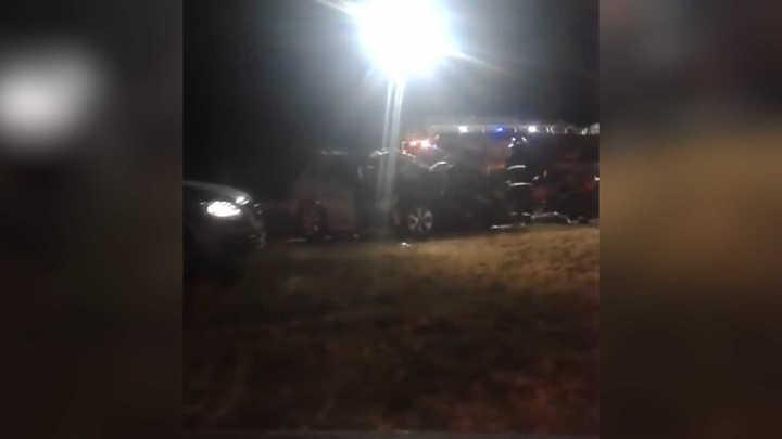 Las imágenes de la camioneta de De la Sota después del accidente fatal