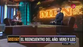 Verónica Lozano le pegó un palito a su compañera Nicole Neumann
