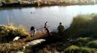 Búsqueda de los pescadores perdidos en la costa de Berazategui